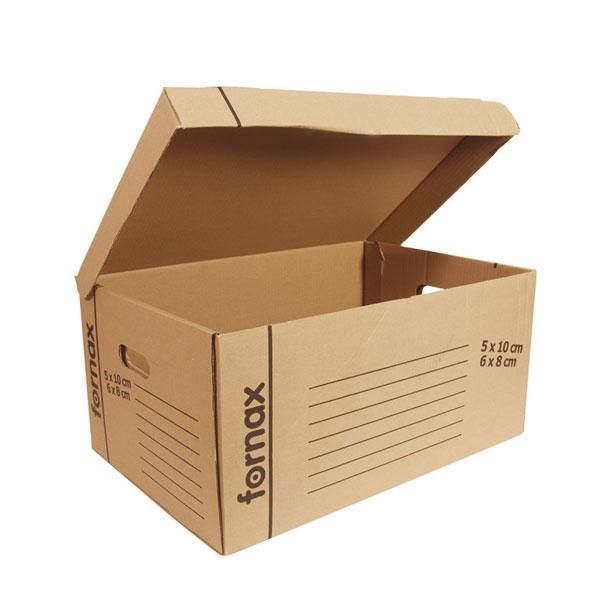 Kutija za arhiviranje sa spojenim poklopcem