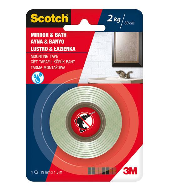Obostrano lepljiva traka Scotch MIROR 19mmx1