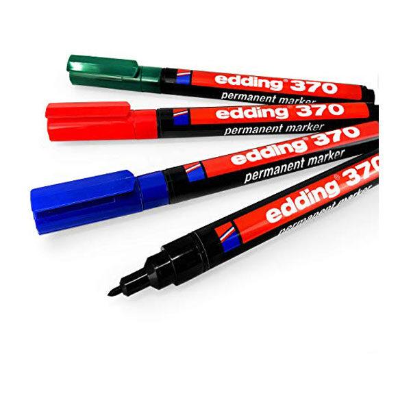 Marker permanent EDDING E-370 obli vrh 1mm