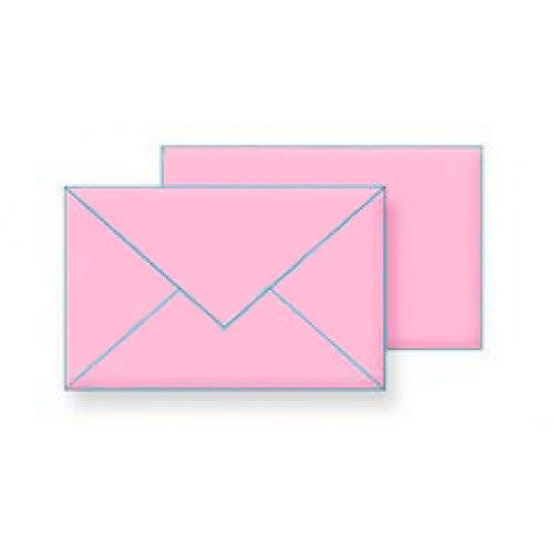 Koverte B5 roze vlažno lepljenje