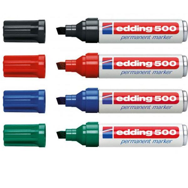 Marker permanent EDDING E-500 kosi vrh 2-7mm