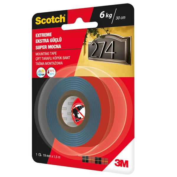 Obostrano lepljiva traka Scotch EXTREME 19mmx1