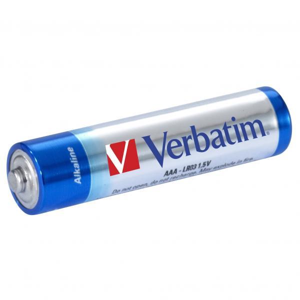 Baterija LR03 (AAA) alkalna Verbatim