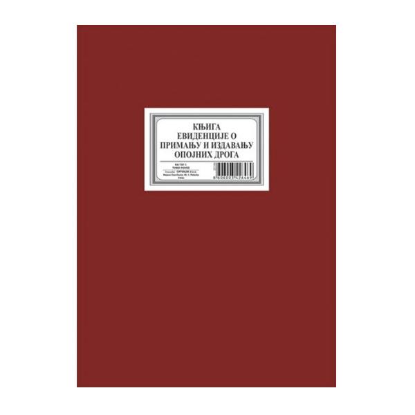 Knjiga evidencije o prijemu opojnih droga