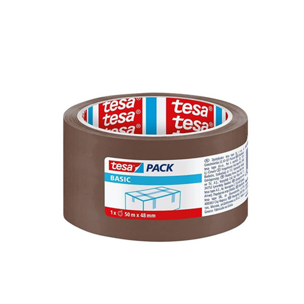 Selotejp 48/50m TESA Basic braon