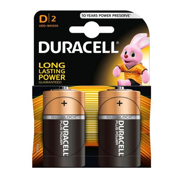 Baterija DURACELL alkalna LR20 1/2
