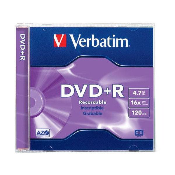 DVD+R 4.7gb 16x Verbatim