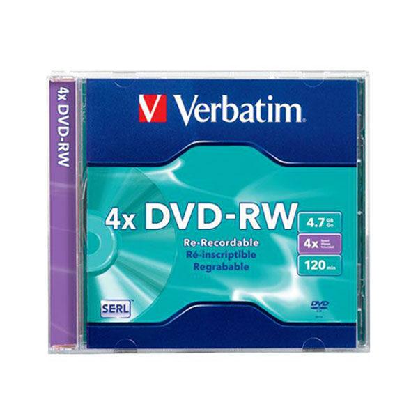 DVD-RW 4.7GB 4X 1/1 Verbatim
