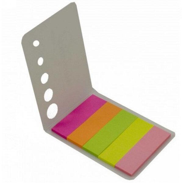 Obeleživač stranica NEON 15x50mm 5 boja