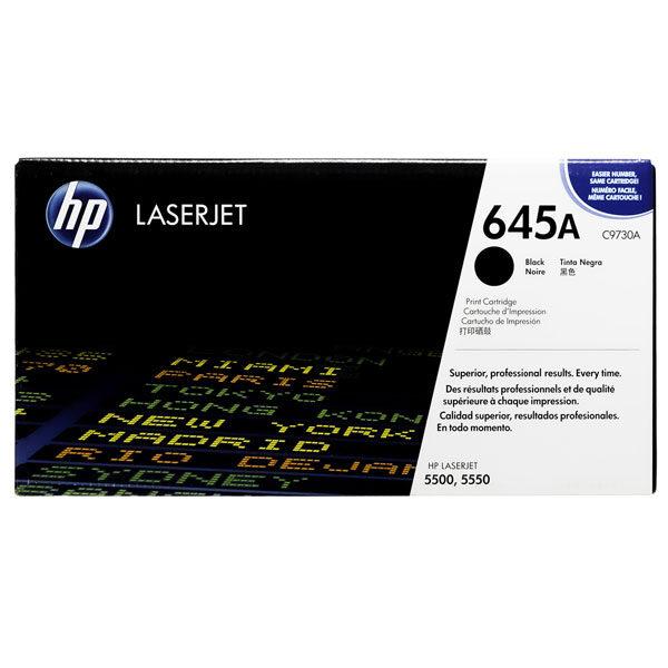 Toner HP 645A C9730A black