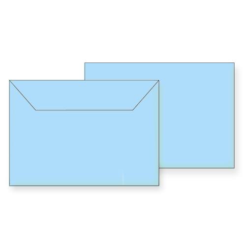 Koverte B6 plave samolepljive