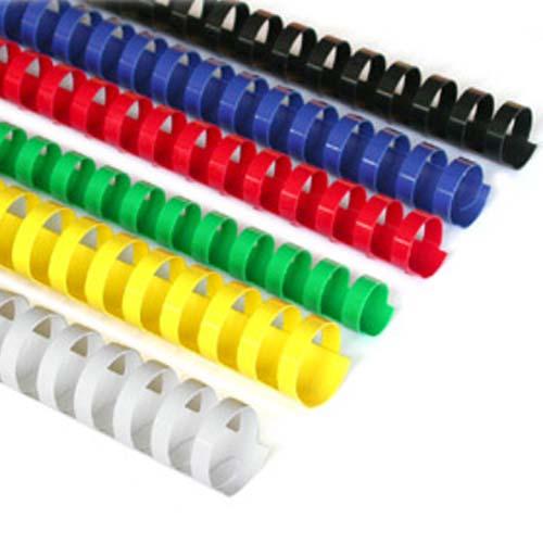 Spirala plastična 25mm crvena 1/50