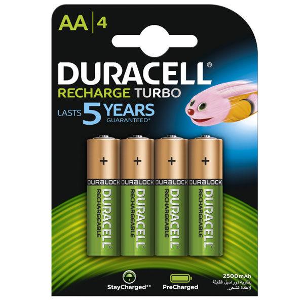 Baterija punjiva LR6 (AA) 2500 mah DURACELL 1/4