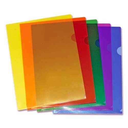 Fascikla PVC L u boji 90mic