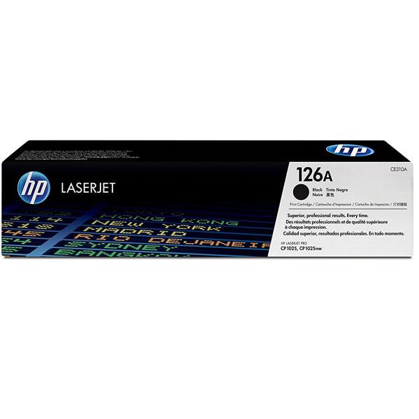 Toner HP CE310A 126A black