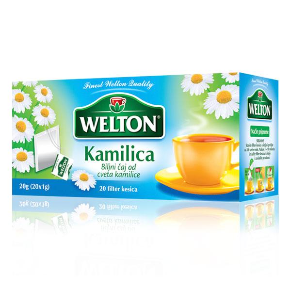 Čaj kamilica WELTON