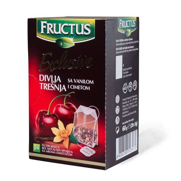 Čaj divlja trešnja sa van i cim 60g FRUCTUS