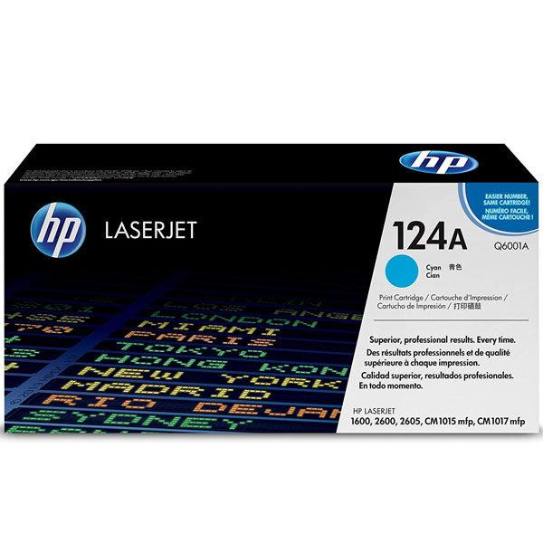 Toner HP Q6001A 124A CYAN