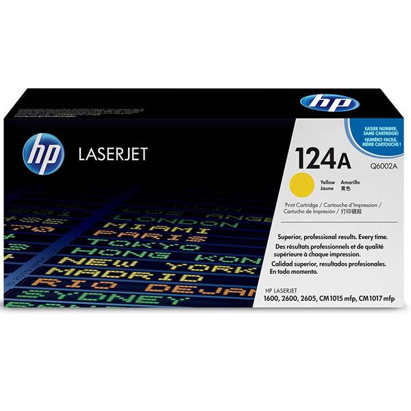 Toner HP Q6002A 124A YELLOW