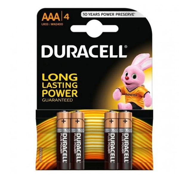 Baterija DURACELL alkalna LR3(AAA)