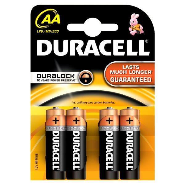 Baterija DURACELL alkalna LR6 (AA)
