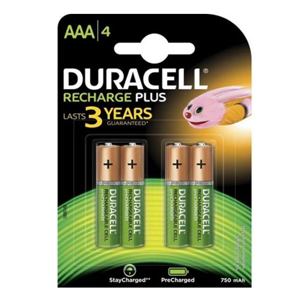 Baterija punjiva LR3( AAA) 750 mah DURACELL 1/4