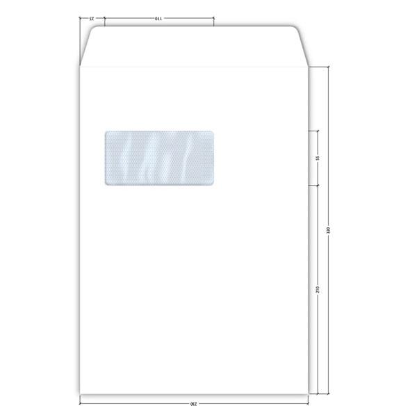 Koverte Competitor 230x330 LEVI PROZOR 100gr