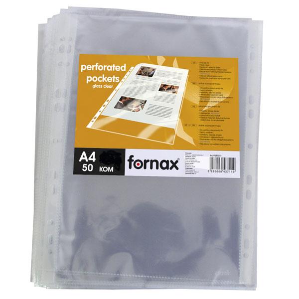 Fascikla UR-11 90mic kristal PROŠIRENA A4+ 1/50 FORNAX