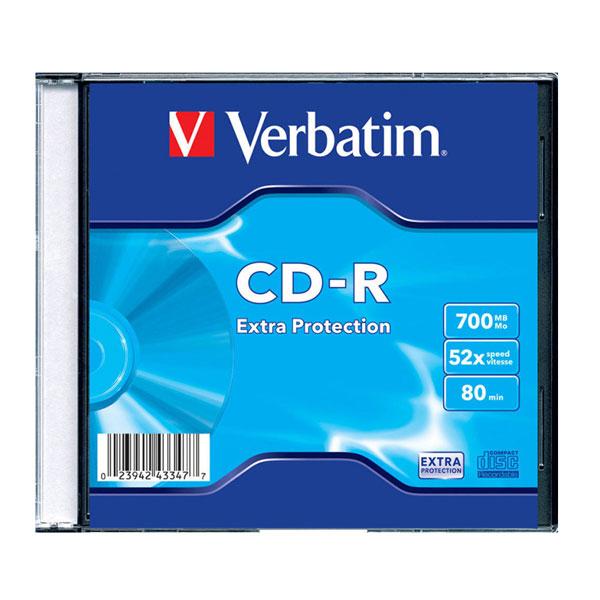 CD-R 70mb 52x 1/1 Verbatim