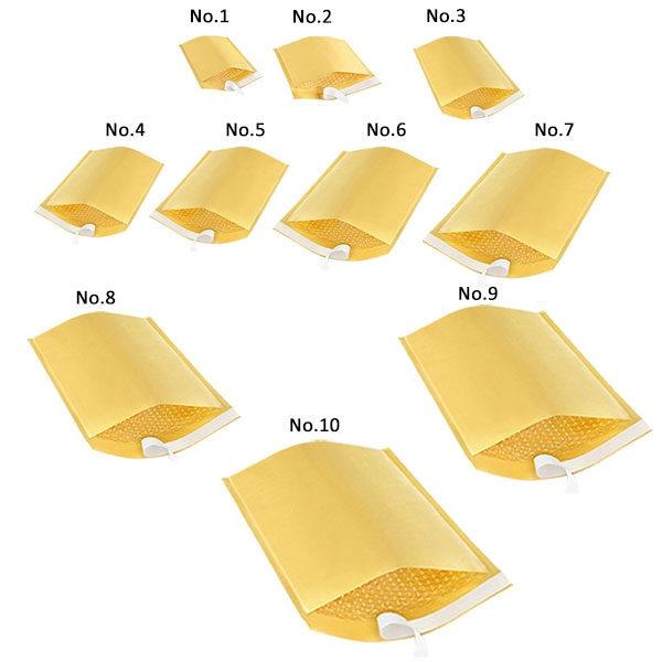 Koverte vazdušaste No.9 320x455 braon