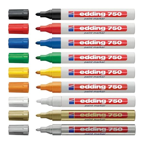 Marker paint E-750 2-4mm EDDING