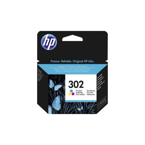 HP INK 302 -BK-6U66A