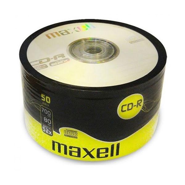 CD-R 700mb 52X 1/50 Maxell