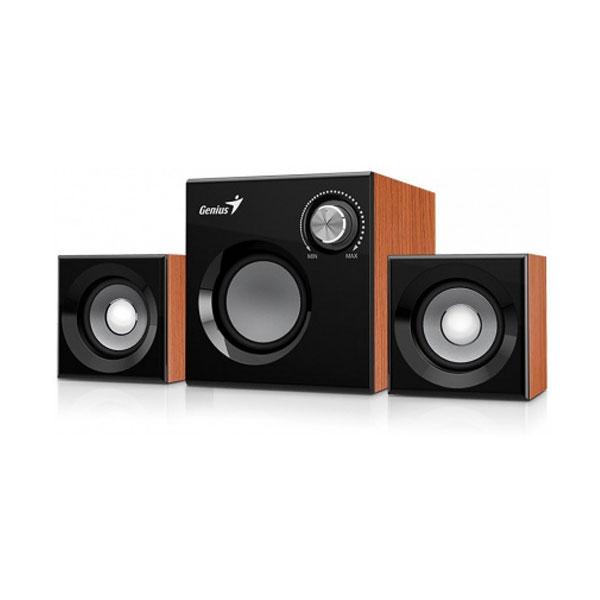 Zvučnici GENIUS SW-2.1 370 WOOD