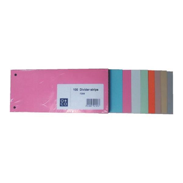 Pregradni karton u boji skraćeni 180gr 1/100 O+CO
