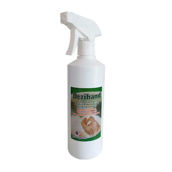 Dezihend za suvo pranje ruku 500ml sa pumpicom