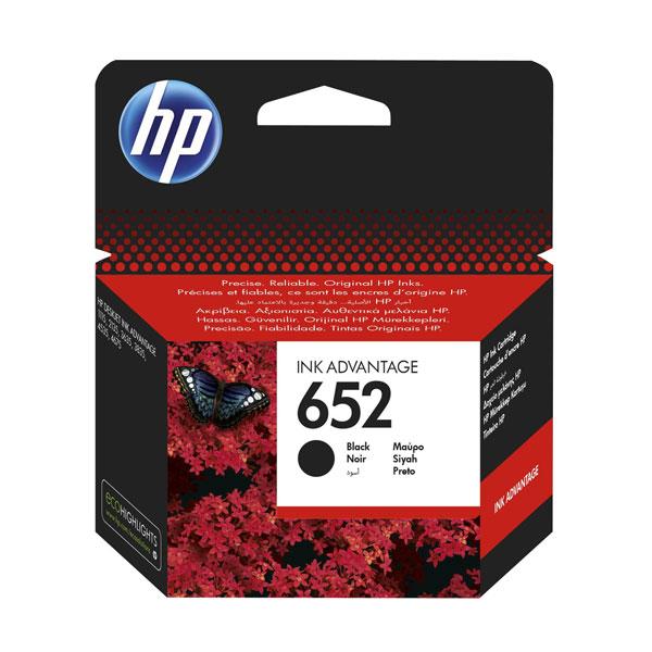 HP ink No.652 -BK-