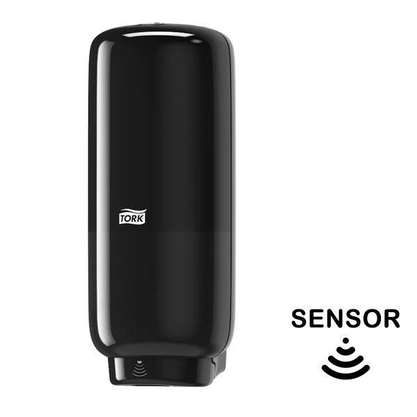 Dispenzer za tečni sapun u peni TORK S4 sa senzorom crni