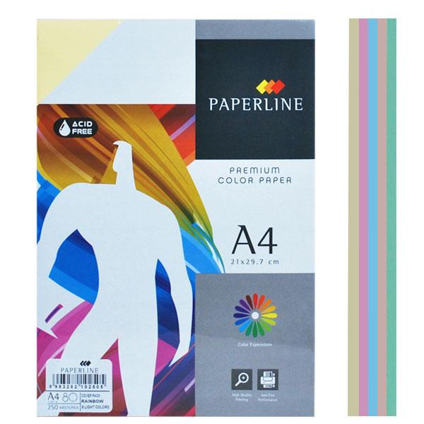 Fotokopir papir u boji mix A4/250 80g pastelni