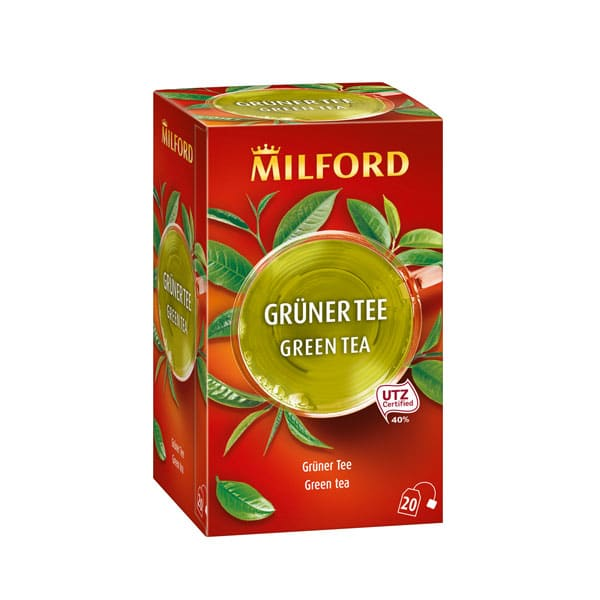 Čaj MILFORD zeleni 20x1.75g