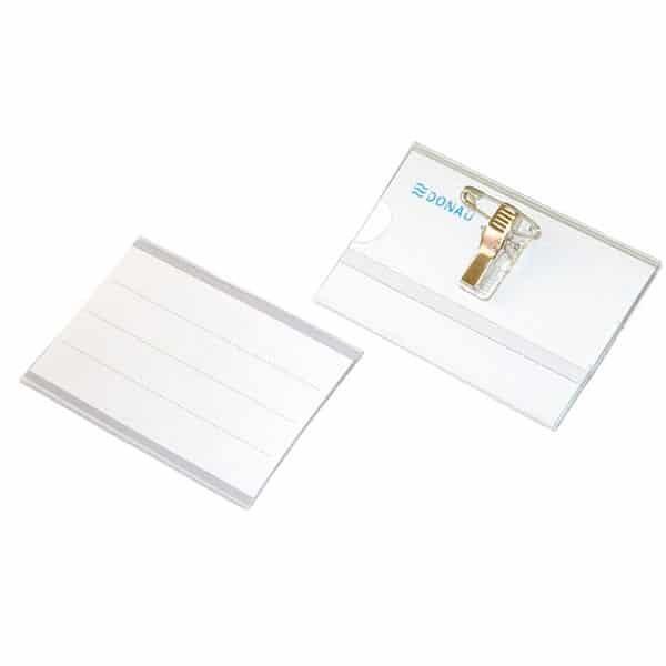 Držač ID kartica sa štipaljkom i zihernadlom DONAU